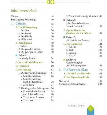 VORBESTELLBAR: Anna Fiedler & Sandra Wiedemann - Vertikal für Kids II - Edition Pferdebuchdiscount