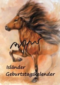 Geburtstagskalender  - Islandpferde - Thomas Aeffner