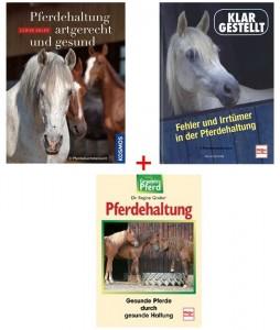 Buchpaket Pferdehaltung mit 3 Titeln