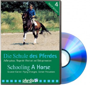 DVD - Die Schule des Pferdes, Teil 4: Alles über Außengalopp, fliegende Wechsel und Galoppirouetten