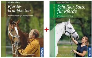 Kosmos Medizin Paket Pferdegesundheit mit 2 Titeln
