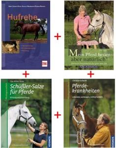 Buchpaket - Pferdegesundheit - 4 Titel
