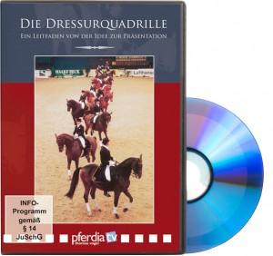 DVD Die Dressurquadrille - Ein Leitfaden von der Idee zur Präsentation