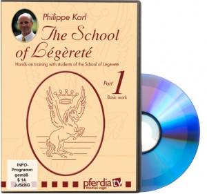 DVD - Philippe Karl Deutsch/Englisch - Die Schule der Légèretè Teil 1