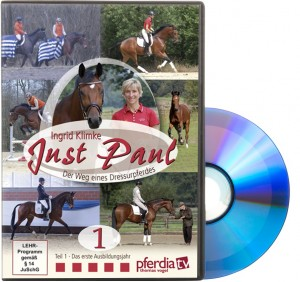 DVD Ingrid Klimke - Just Paul Teil 1 - Der Weg eines Dressurpferdes
