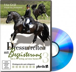 DVD Uta Gräf - Dressurreiten mit Begeisterung Teil 3 - Erfolg auf dem Turnier
