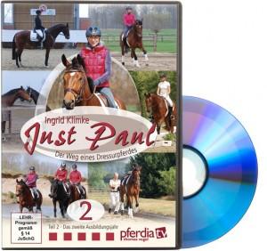 DVD Ingrid Klimke - Just Paul - Der Weg eines Dressurpferdes Teil 2 - Das zweite Ausbildungsjah