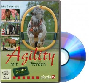 DVD Nina Steigerwald - Agility mit Pferden - Der Film