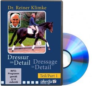 DVD Dr. Reiner Klimke - Dressur im Detail - Teil 1