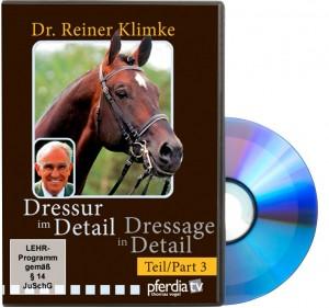 DVD Dr. Reiner Klimke - Dressur im Detail - Teil 3