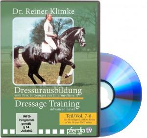 DVD Dressurausbildung : Von Prix St. Georges bis Intermédiaire II