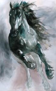 Leinwanddruck Thomas Aeffner: Ritzke 55 x 90 cm