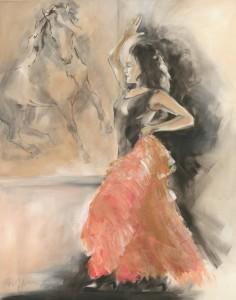 Kunstdruck Thomas Aeffner: Spanischer Tanz