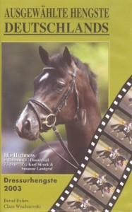 DVD Ausgewählte Hengste Deutschlands - Dressurhengste 2003