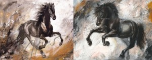 "10er Set - 2 Motive Thomas Aeffner - ""Leon & Maximilian"" Kunstpostkarte"