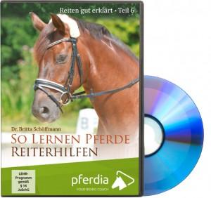 DVD Dr. Britta Schöffmann - Reiten gut erklärt Teil 6: So lernen Pferde Reiterhilfen