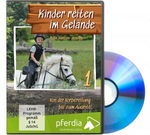DVD: Kinder reiten im Gelände 1 - Von der Vorbereitung bis zum Ausritt