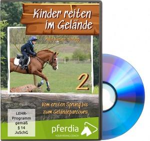 DVD: Kinder reiten im Gelände Teil 2 - Vom ersten Sprung bis zum Geländeparcours