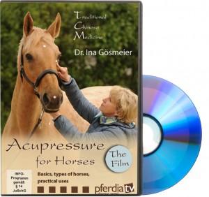 DVD - Ina Gösmeier - Acupressure for Horses -Basics, Types of Horses, Practical Uses