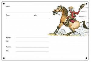 Boxenschild - Westernpferd