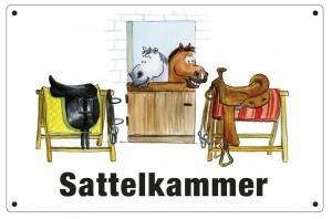 Schild - Sattelkammer