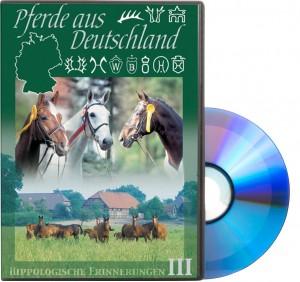 DVD Pferde aus Deutschland - Hippologische Erinnerungen III