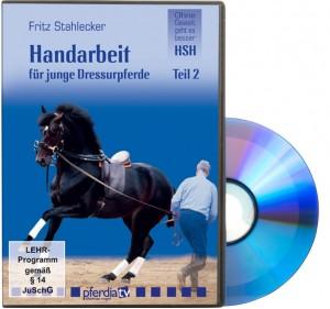 DVD Fritz Stahlecker - Handarbeit für junge Dressurpferde 2