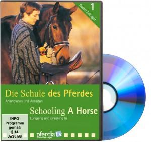 DVD - Rudolf Zeilinger - Die Schule des Pferdes Teil 1