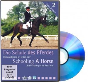 DVD - Die Schule des Pferdes, Teil 2: Grundausbildung im ersten Jahr