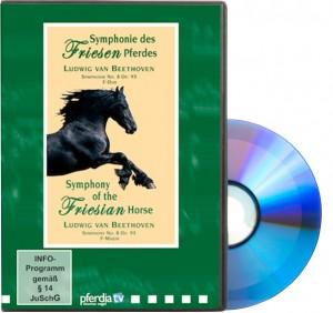 DVD Symphonie des Friesenpferdes - Beethoven