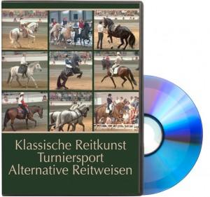 DVD Klassische Reitkunst - Turniersport - Alternative Reitweisen