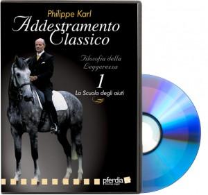 DVD - Philippe Karl - Addestramento Classico 1: La Scuola degli aiuti