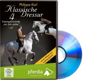 DVD Philippe Karl - Klassische Dressur 4 - Trainingsfortschritte