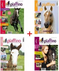 Piaffino Paket mit 4 Ausgaben Nr. 7,8,9,11