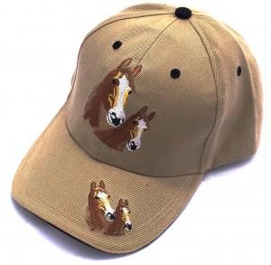 ZWEKK Cap mit Pferdemotiv Farbe Beige
