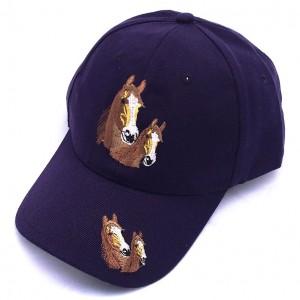 ZWEKK Cap mit Pferdemotiv, Farbe Lila