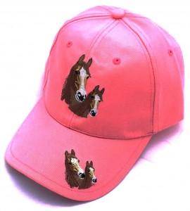 ZWEKK Cap mit Pferdemotiv Farbe Pink