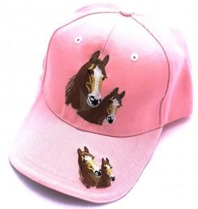 ZWEKK Cap mit Pferdemotiv Farbe Rosa