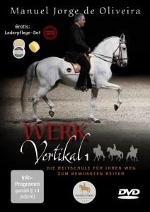 DVD Manuel Jorge de Oliveira  - Vertikal 1 - DER FILM & Zwekk Lederpflege Set