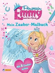 Prinzessin Emmy: Mein Zauber Malbuch - Mängelexemplar