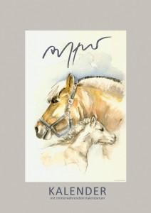 Immerwährender Wand-Kalender: Fjordpferde - Thomas Aeffner