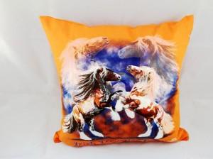 """Kissen mit Pferdemotiv """"Shetty""""  inclusive Füllung 40 x 40 cm"""