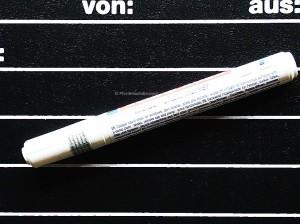 Kreidemarker weiß, abwischbar,  zum Beschriften von Stalltafeln