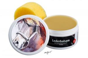Zwekk© - Leder-Pflege-Set Leder-Balsam 250 ml Pferdemotiv Renour