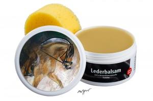 Zwekk© - LederPflege-Set Leder-Balsam 250 ml Pferdemotiv Fjordpferd