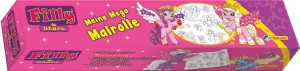 Filly: Meine Mega Malrolle Pferde - Mängelexemplar