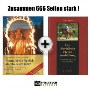 Olms Buchpaket Pferdeausbildung 2 Titel