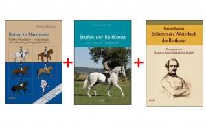 Olms-Dressur Buchpaket mit 3 verschiedenen Titeln