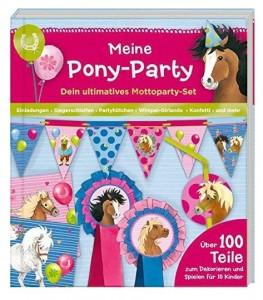 Meine Pony Party - Über 100 Teile zum Dekorieren und Spielen