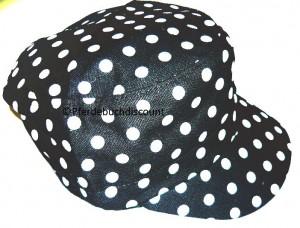 ZWEKK Cap Schwarz mit weißen Punkten